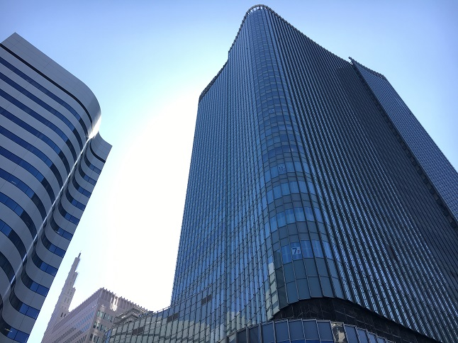 東京宝塚劇場の真横に建設中のビルについて調べてみた1
